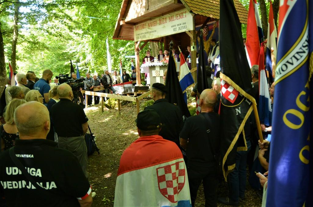 Održana komemoracija za žrtve Jazovke (2020.)